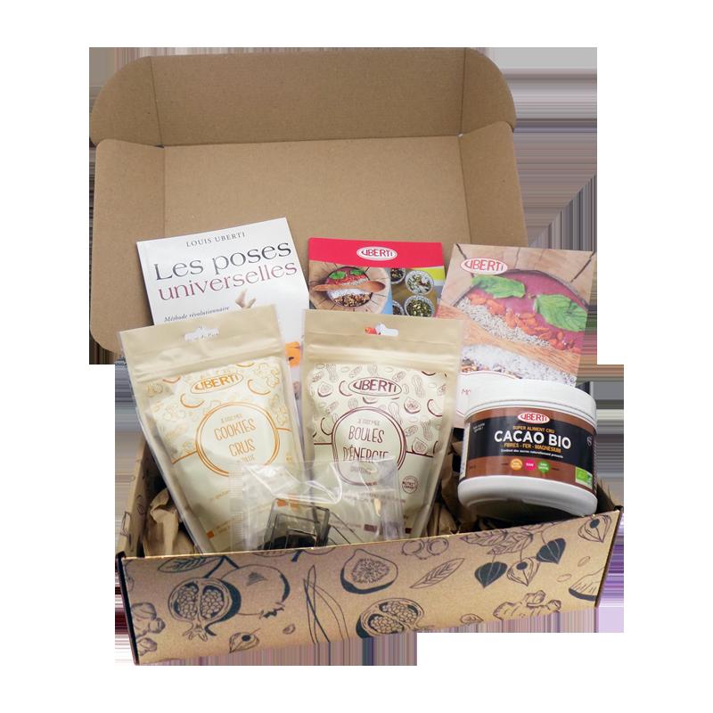 BOX bio Uberti - Mes saines gourmandises - Contenu