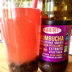 Idée recette : Bubble tea framboise au Kombucha