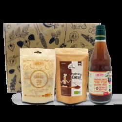 Cookies crus, cacao bru et condiment¨Pom'pom - pack Uberti