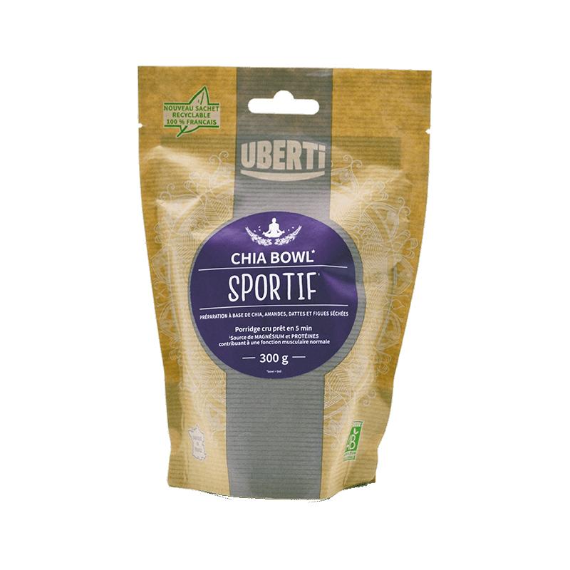 Chia Bowl Sportif à base de graines de chia et superfuits séchés - 300 g