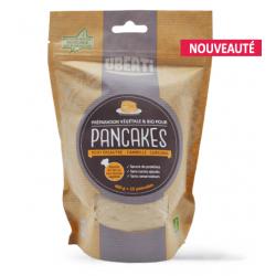 Pancakes au curcuma et à la cannelle. Bio