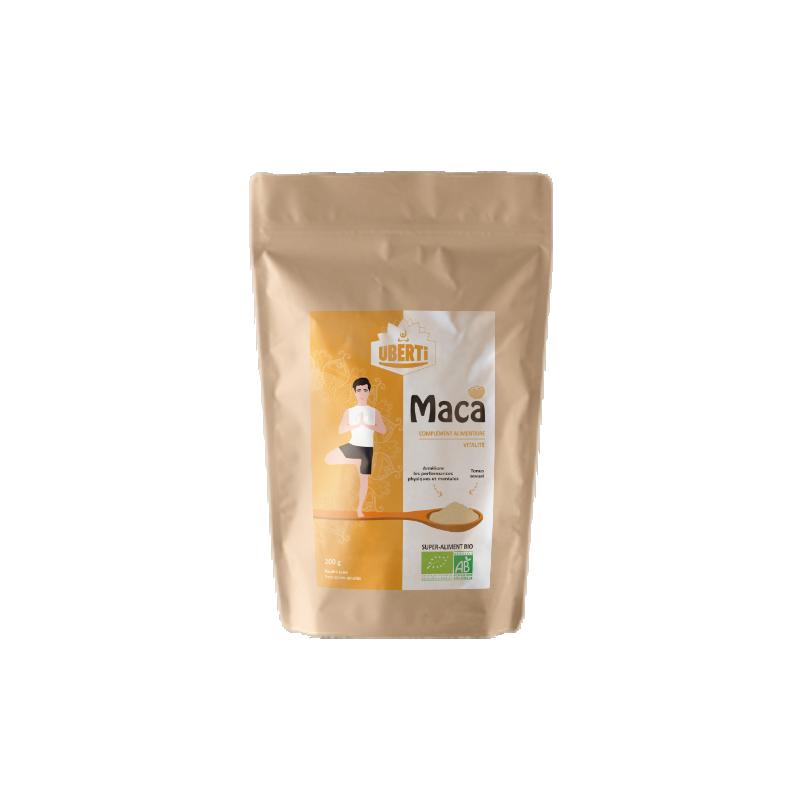 Nouveau sachet poudre de Maca - Uberti.shop
