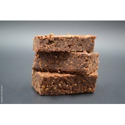 Préparation végétale et bio pour Brawnie sans cuisson au chocolat pur - Uberti