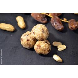 Boules d'énergie Sportives bio Uberti (energie balls) - Un encas facile et rapide à préparer à base de figues et dattes - 300 g