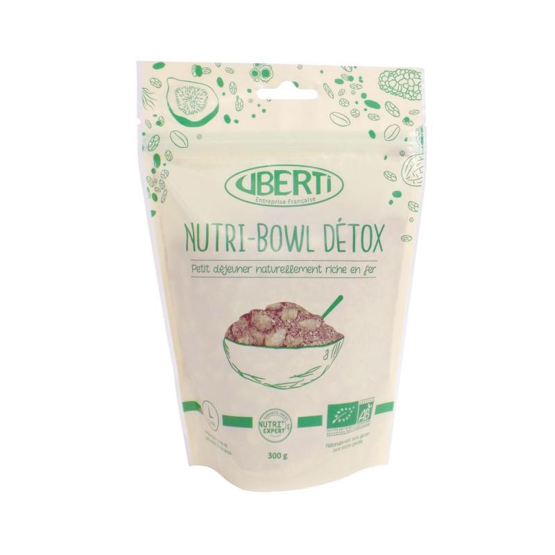 Nutri-Bowl Green Détox bio Uberti - Un petit-déjeuner à base de graines de chia - 300 g