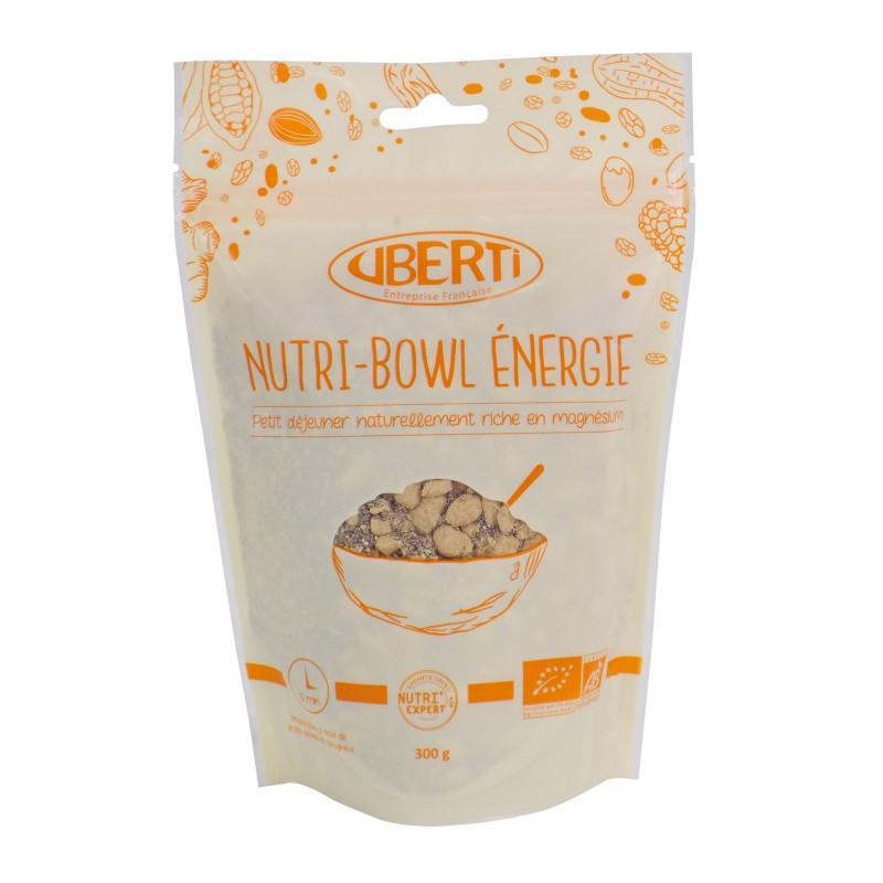 Nutri-Bowl Energie bio Uberti - Un petit-déjeuner à base de graines de chia - 300 g