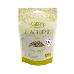 Graines de chanvre françaises entières bio Uberti - Naturellement riche en oméga 3.