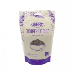 Graines de chia bio Uberti - idéal en chia pudding - 300 g