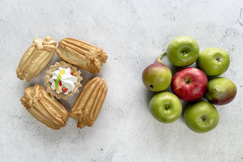 comparaison aliments